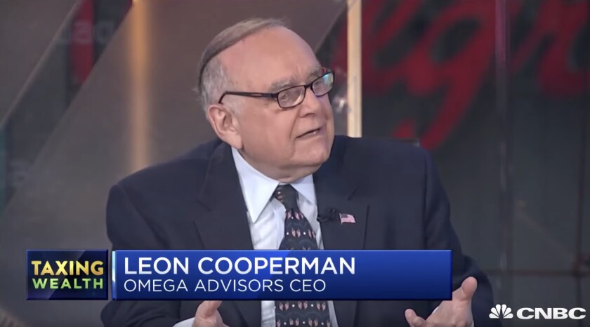 Billionaire Leon Cooperman defended himself and his fellows against Elizabeth Warren during an appearance on CNBC last week.