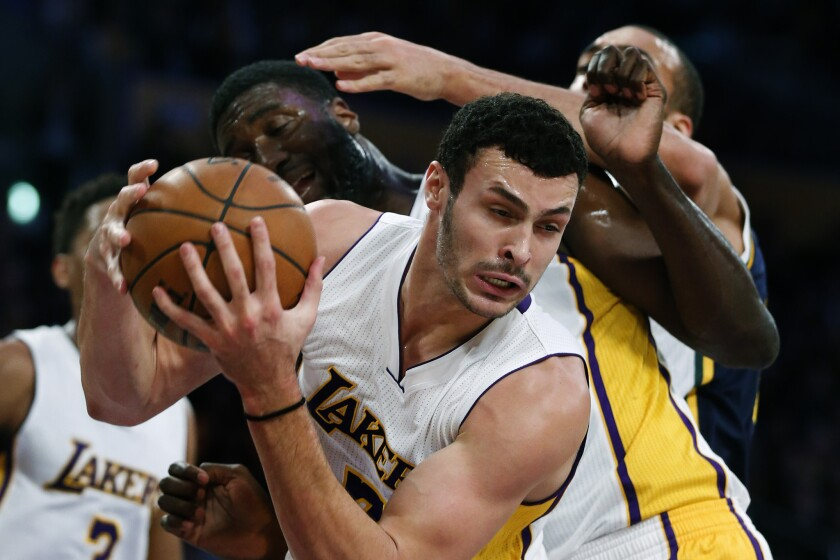 Larry Nance Jr., Roy Hibbert, Rudy Gobert