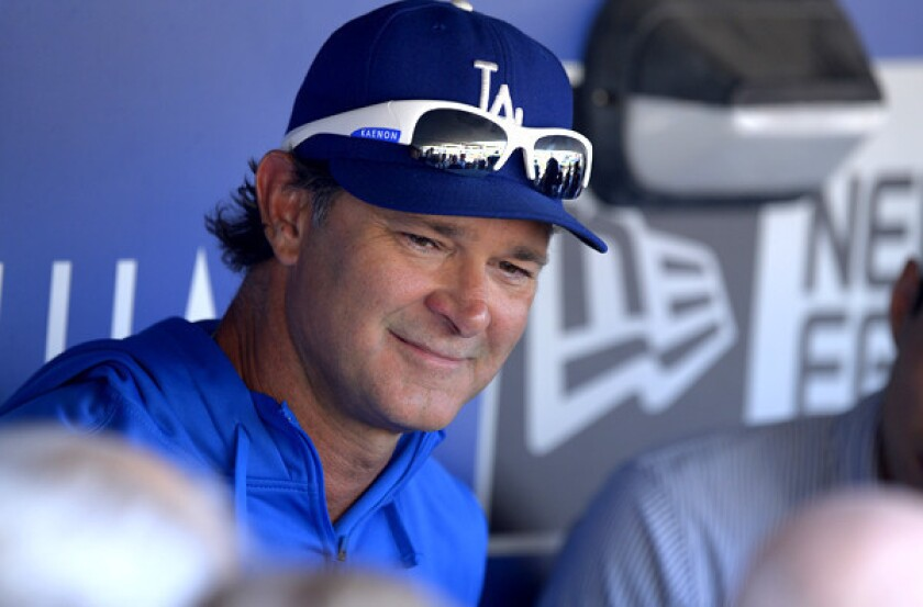 Dodgers' Don Mattingly says job was in jeopardy early in the season