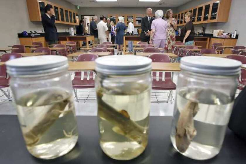 Providence High celebrates new high-tech science labs