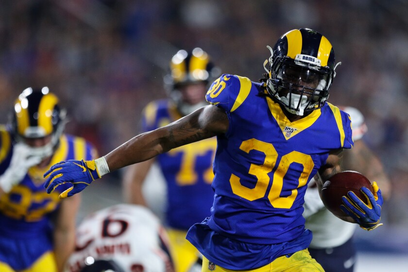 Todd Gurley S Workload Could Be Key For Rams To Beat Ravens