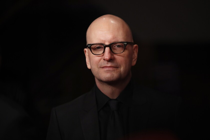 Steven Soderbergh at the premiere for his film 'Unsane' during the 68th Berlinale International Film Festival Berlin on February 21, 2018.