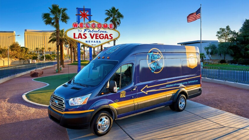 Las Vegas' new airport-to-the-Strip ride-hailing service may be one of the cheapest