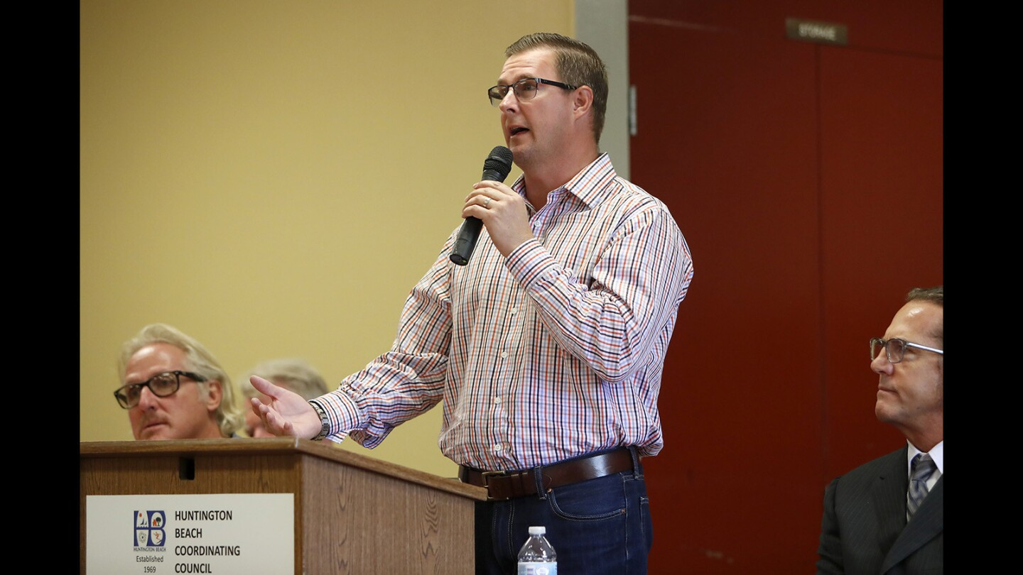 Photo Gallery: Huntington Beach City Council candidate forum
