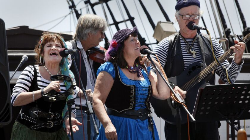 Raggle Taggle returns to perform at the annual Sea Chantey Fest.