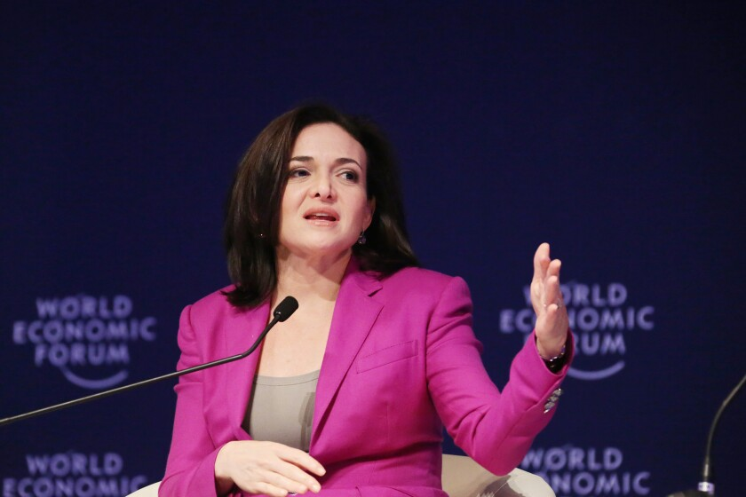 "Sheryl Sandberg's book ""Lean In"" is on its way to becoming a film."