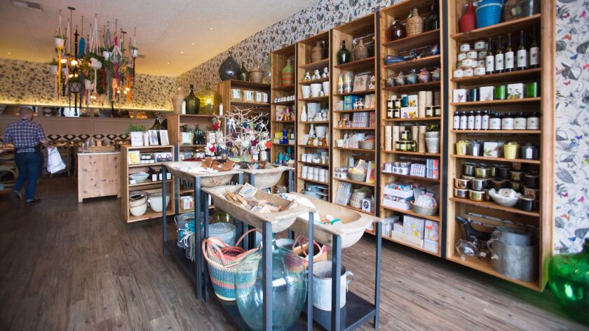 Cucina Sorella, like its sister Cucina restaurants, has an eclectic collection of items for sale. Th
