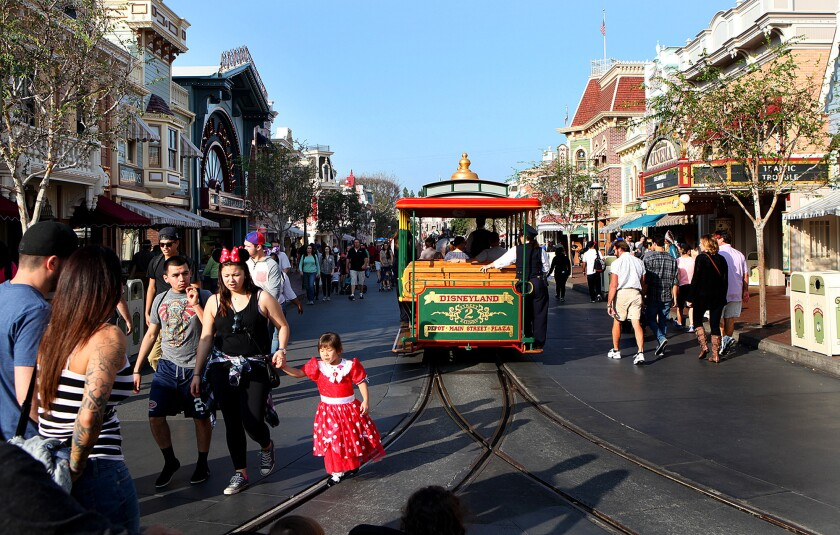 Disneyland hasn't been the happiest place on Earth, if you're susceptible to measles.