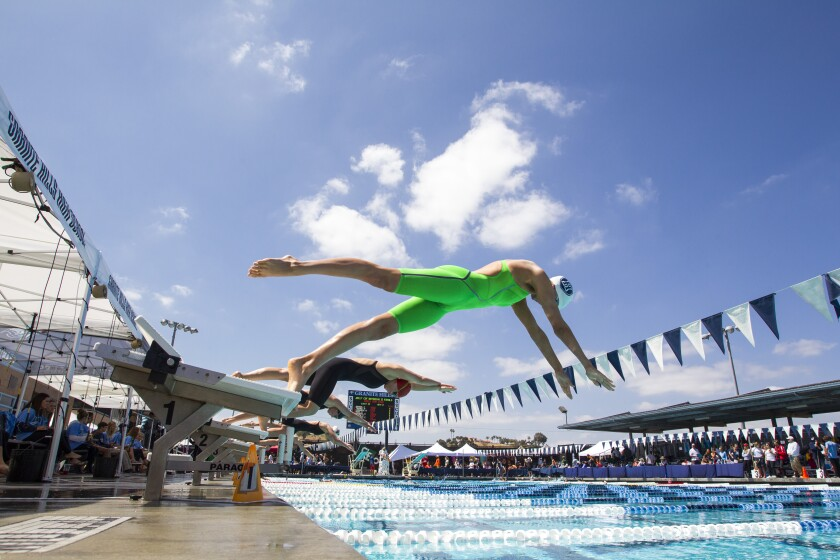 The CIF San Diego Section Swimming and Dive Championships will again be at Granite Hills High School.