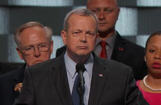 Retired Marine Gen. John Allen makes the case for Clinton at the Democratic National Convention