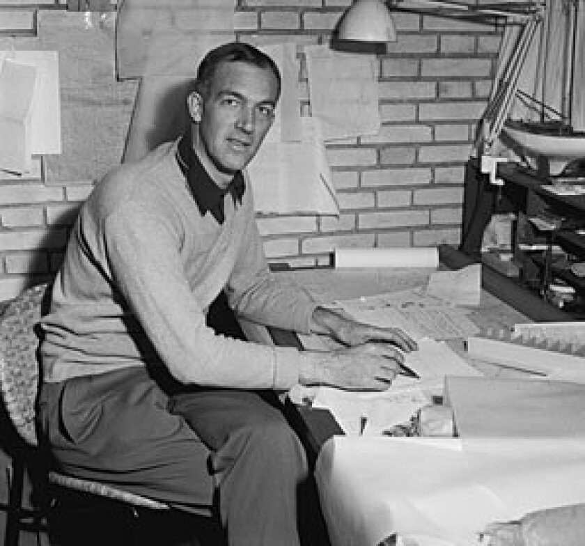 Jorn Utzon, in 1957 at age 38, received word at his home in Denmark that he won an international competition to build the opera house, beating out 232 other competitors. The project — whose overrun budget and delays sparked controversy — was a mixed blessing, giving the architect fame but also heartache.