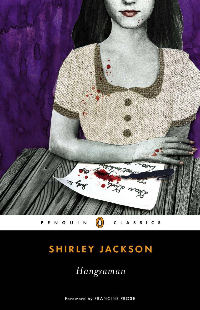 "Shirley Jackson's second novel, ""Hangsaman."""