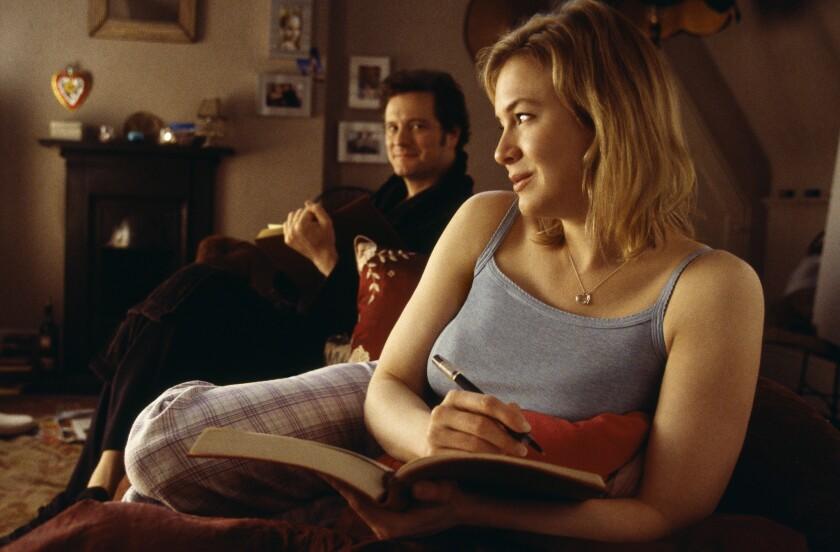 "Renee Zellwegger and Colin Firth in ""Bridget Jones: The Edge of Reason."""