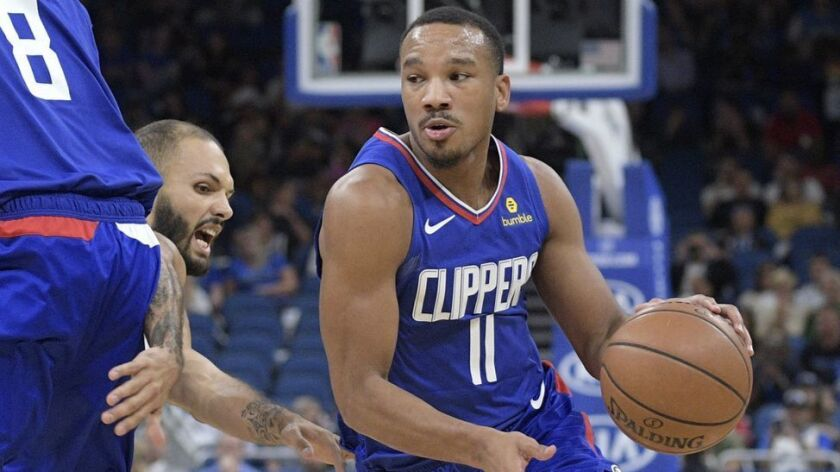 Avery Bradley was dealt from the Clippers to Memphis at the trade deadline last season.