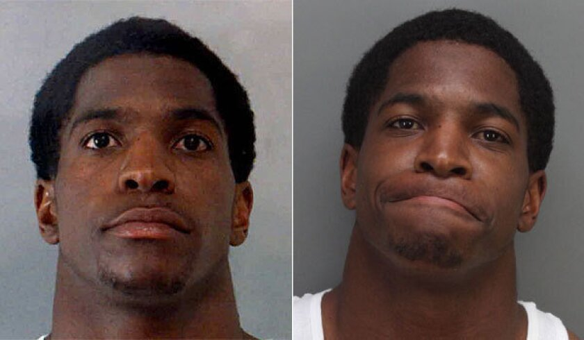 Titus Young was arrested, and thus had his mug shot taken, twice in one day.