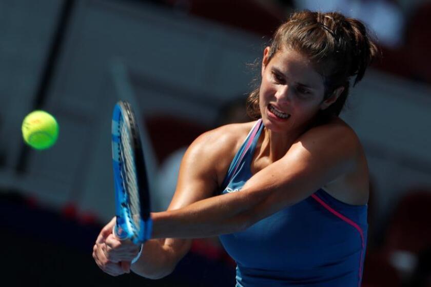 La tenista alemana Julia Georges. EFE/Archivo