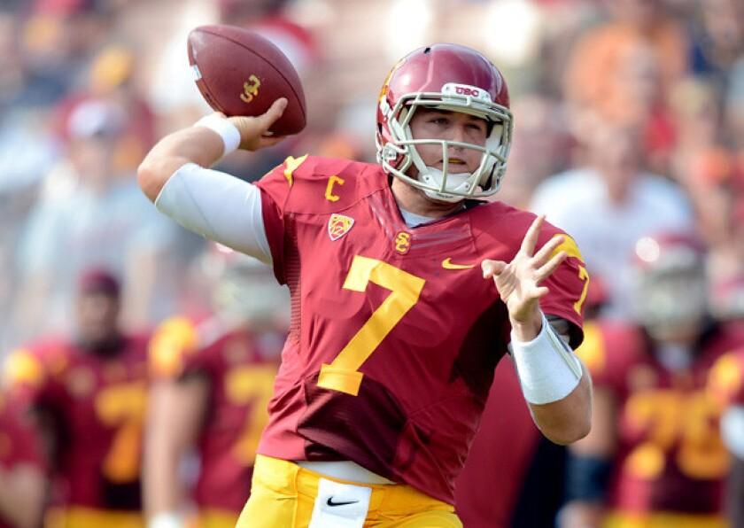 USC FYI: Trojans hope to get Matt Barkley, passing game back on track