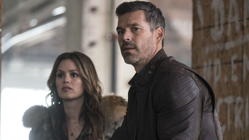 """Rachel Bilson plays an actress who attaches herself to private detective Eddie Cibrian in ABC's new procedural crime series """"Take Two."""""""