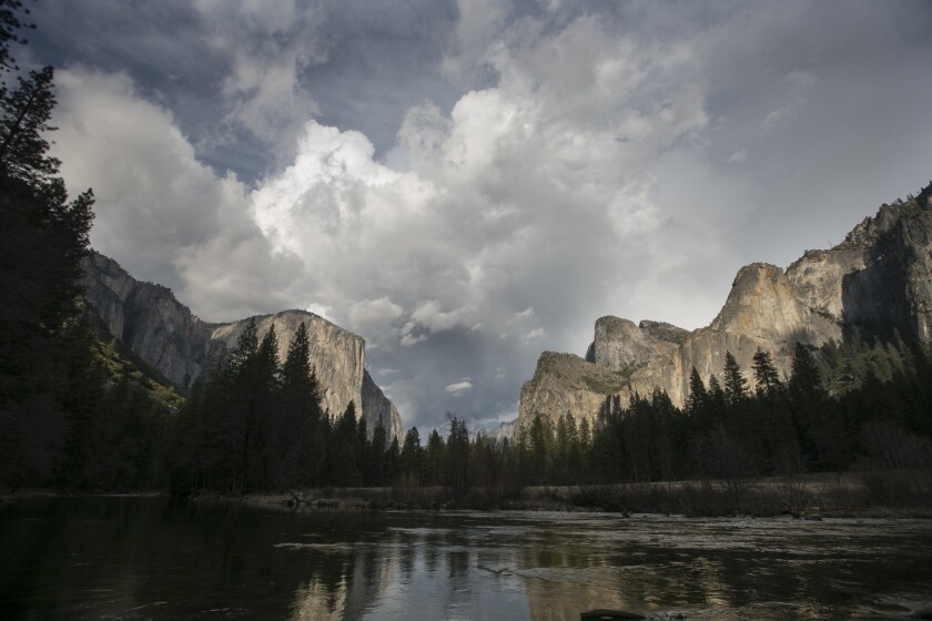 It's time to celebrate our national parks, including Yosemite (shown here). The National Park Service turns 100 on Thursday.