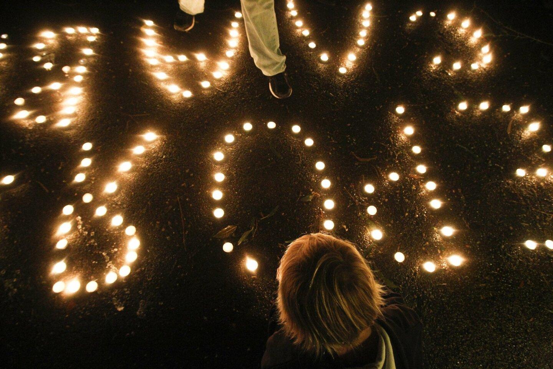 Candlelight Vigil For Ukraine