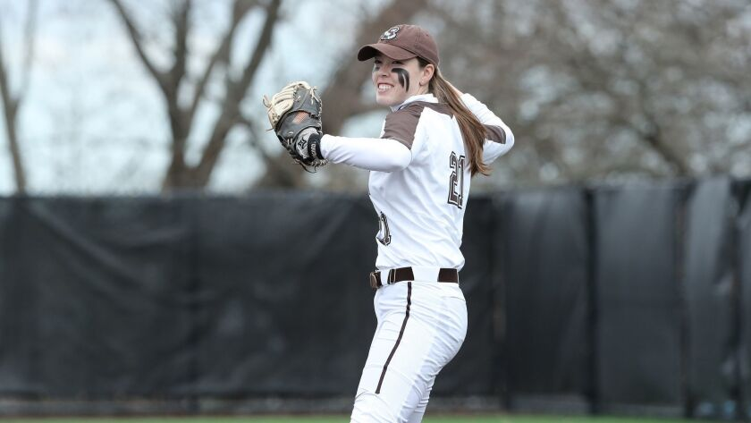 Annie McGregor, Brown softball