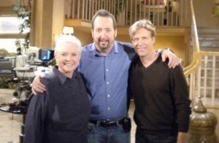Actress Susan Flannery, Dr. Michael Weitz and actor Jack Wagner. Photo by Rachel Schwartz/PR AdvantEDGE Inc.
