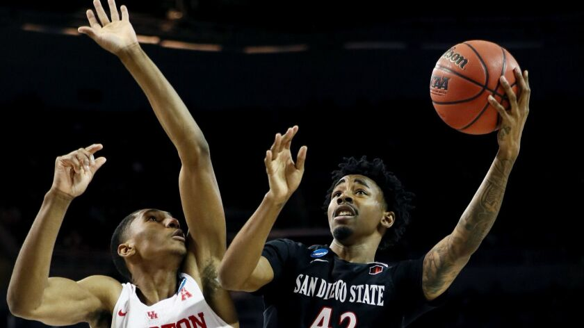 San Diego State v Houston