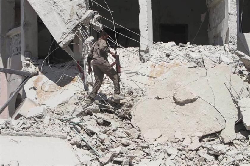 El Ejército del país, en coordinación con las autoridades locales, bombardeó ayer, jueves, posiciones de combatientes del grupo terrorista Al Shabab en Somalia, lo que causó la muerte de cuatro presuntos yihadistas, informó hoy el mando militar para África (Africom). EFE/Archivo