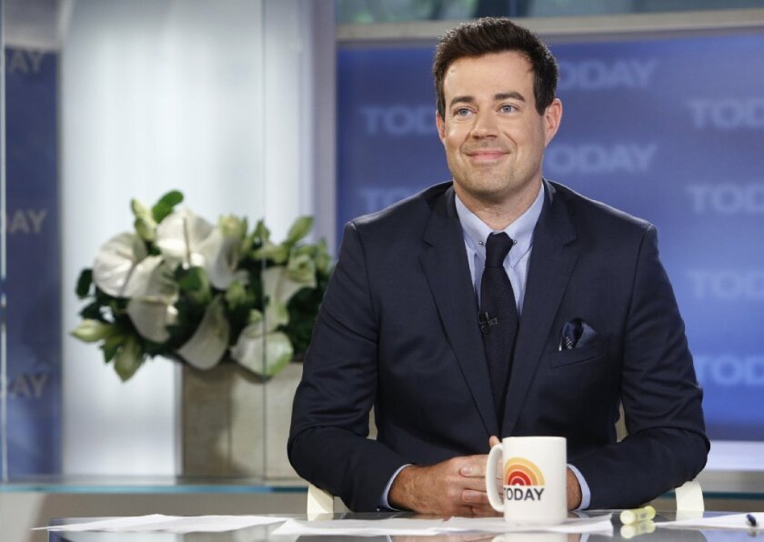 """Carson Daly on NBC News' """"Today"""" show in New York."""