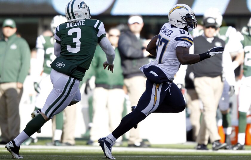 Chargers' Micheal Spurlock earned AFC Special Teams Player of the Week honors for this TD return against the New York Jets.