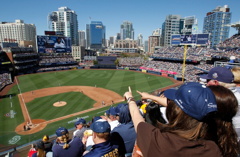 Padres Opening Day at Petco Park