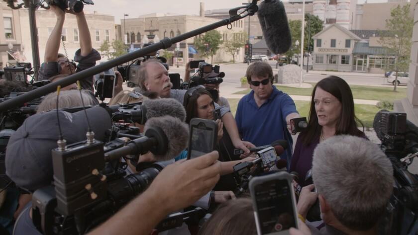 "A still from ""Making a Murderer: Part 2"" that show's Steven Avery's new attorney, Kathleen Zellner."