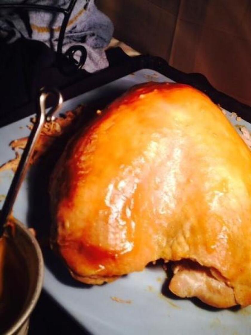 Honey Apricot Roasted Turkey Breast