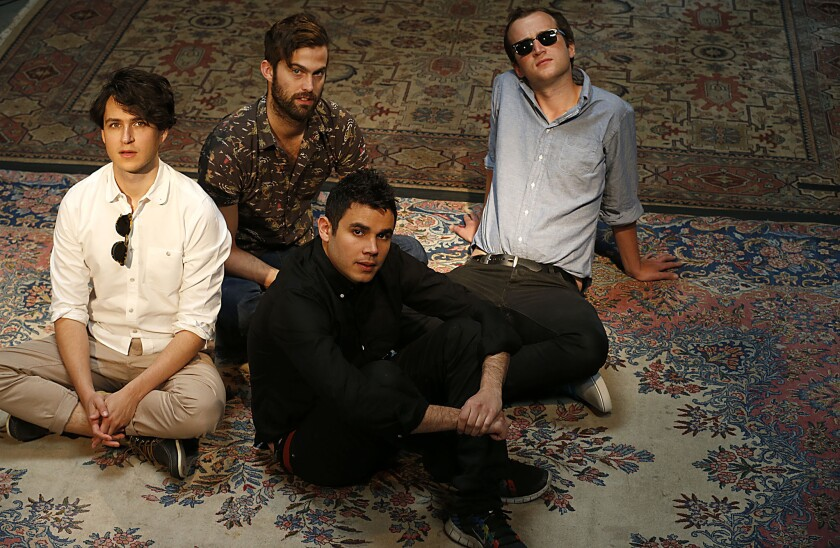 """Vampire Weekend's new album, """"Modern Vampires of the City,"""" has debuted at No. 1 on the Billboard 200."""