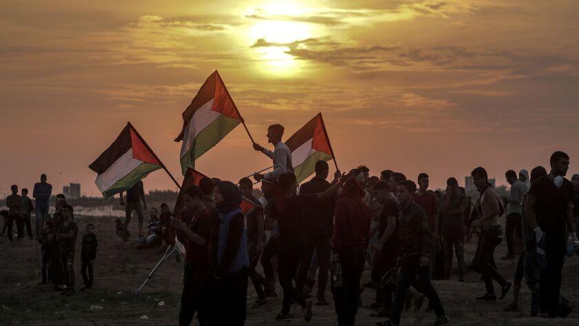 Clashes in Gaza, Eastern Gaza Strip, - - 09 Nov 2018