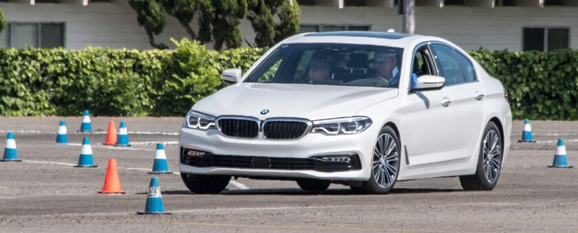 Autocrossing the all-new BMW 5 Series