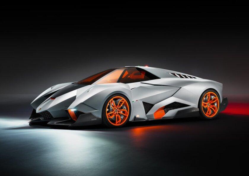 The wild one-off Lamborghini Egoista is a single-seat concept car loosely based on the Gallardo.