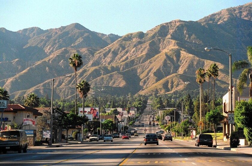 Altadena, at the foot of the San Gabriel Mountains, is one of the unincorporated areas to be covered by the county's historic preservation regulations.