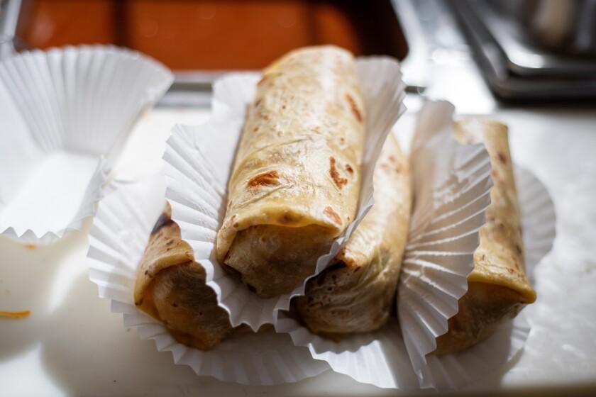 Tito's Tacos burritos