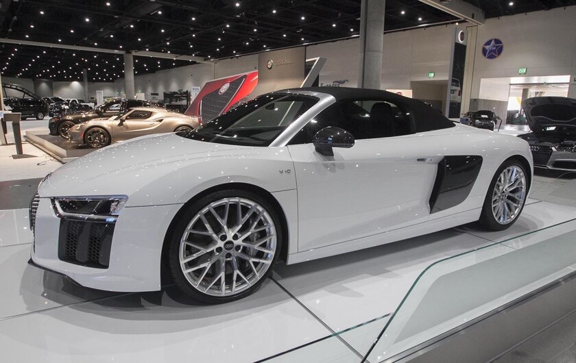 car enthusiasts take the wheel at san diego auto show the san diego union tribune san diego auto show