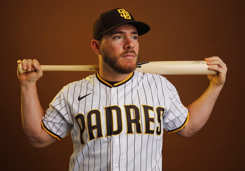 San Diego Padres infielder Esteban Quiroz.