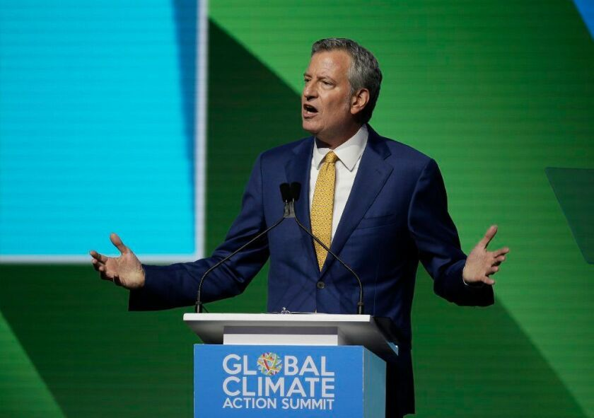 Mayor de Blasio defended the goal of the inaccurate letters — saying they were a response to the Board of Elections purging 200,000 inactive voters in 2016, resulting in many people having trouble voting in the presidential primary.