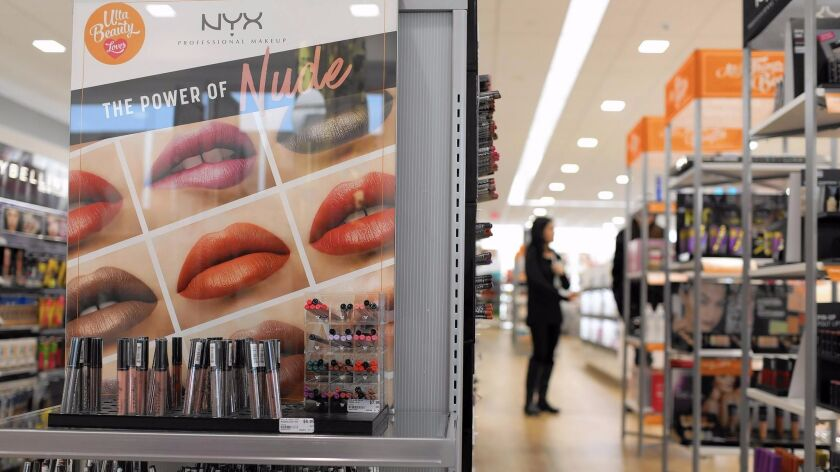 L'Oreal bought NYX in 2014. Beauty care companies are buying up younger, trendier brands.