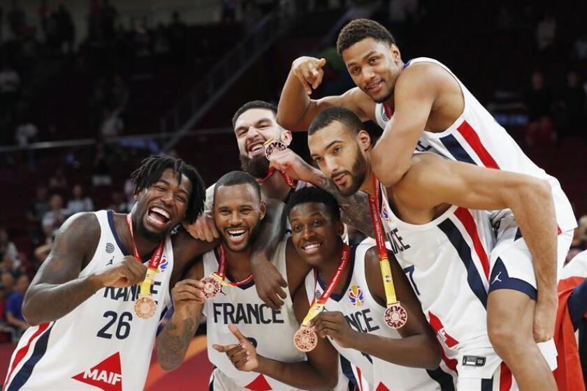67-59. Francia repite bronce mundialista contra una Australia venida a menos