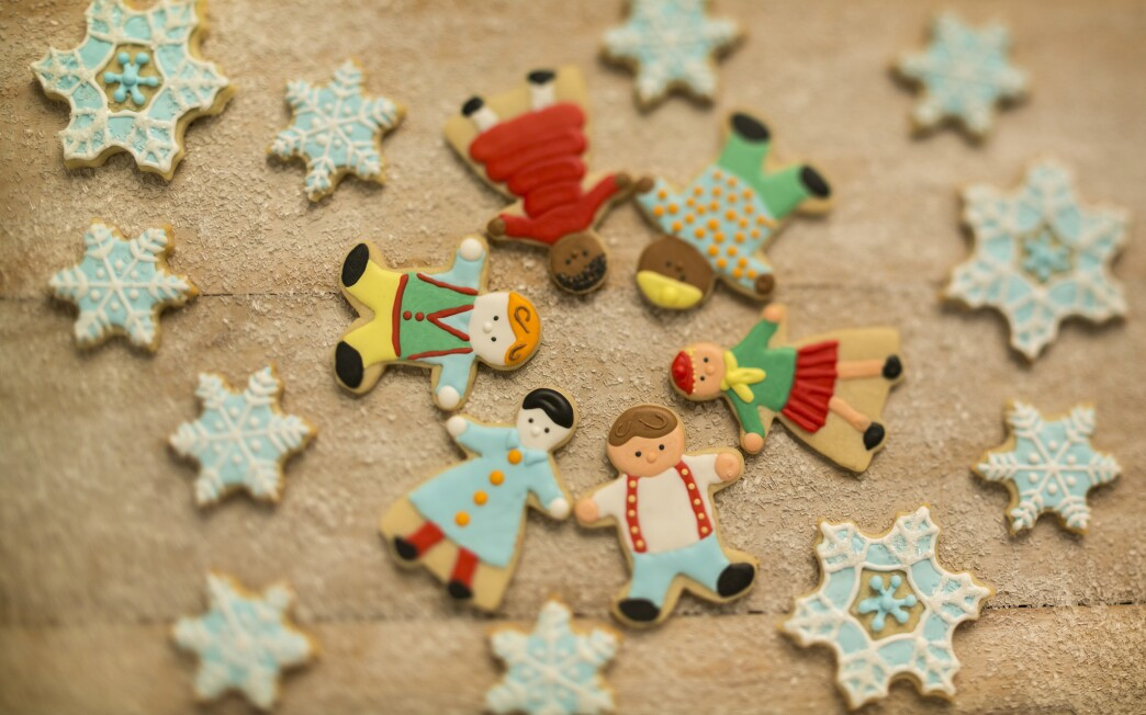 Holiday kids cookies
