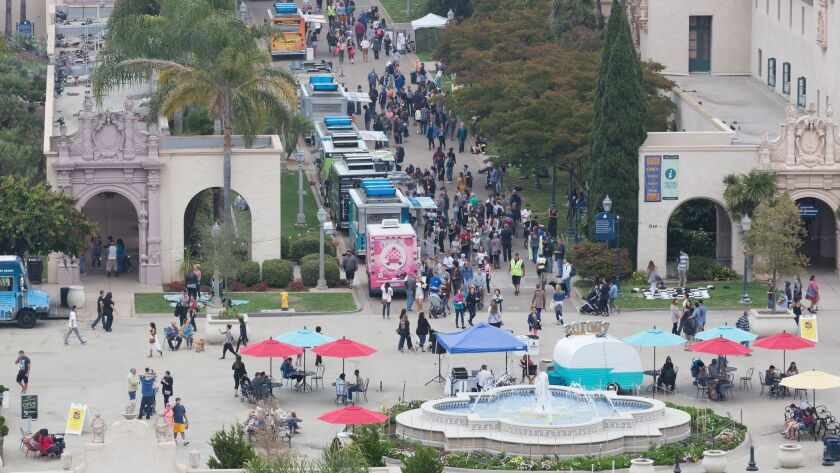 The summer Food Truck Fridays have returned to the Plaza de Panama and El Prado.