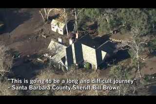 Rescuers search for survivors of Montecito mudslides