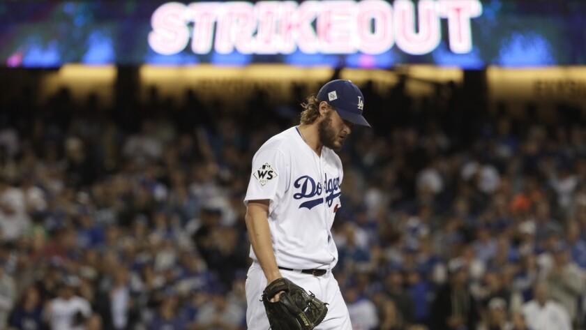 Clayton Kershaw went 18-4 last season with a 2.31 earned-run average.