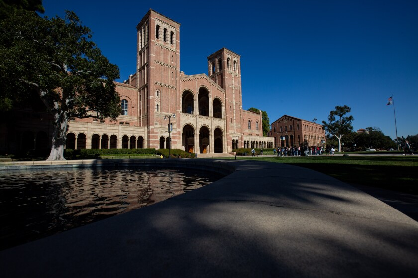 UCLA drew a record number of freshman applications for fall 2021 despite pandemic challenges.