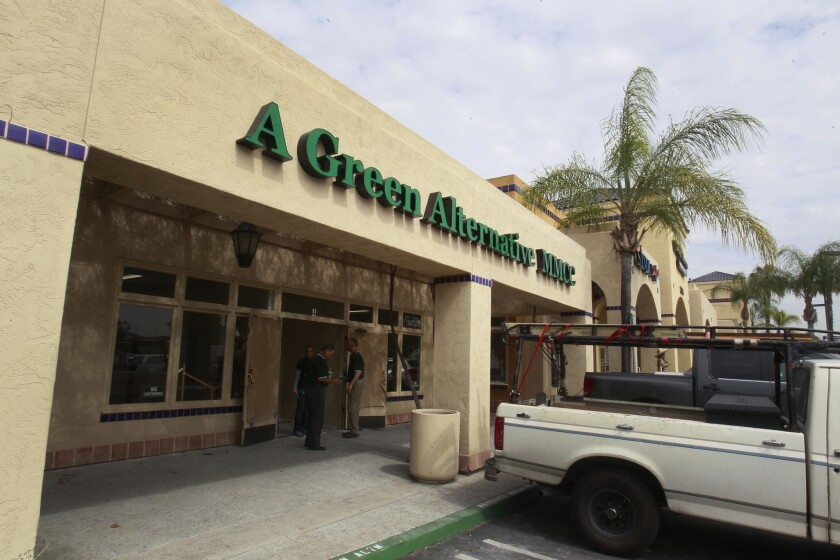 A Green Alternative, San Diego's first permitted medical marijuana dispensary